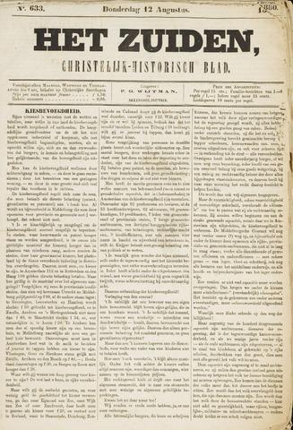 Het Zuiden, Christelijk-historisch blad 1880-08-12