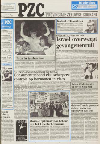 Provinciale Zeeuwse Courant 1987-02-09