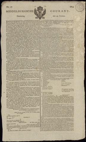Middelburgsche Courant 1814-10-20