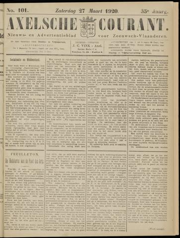 Axelsche Courant 1920-03-27