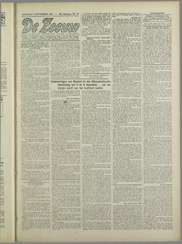 De Zeeuw. Christelijk-historisch nieuwsblad voor Zeeland 1943-11-09