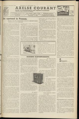 Axelsche Courant 1956-09-26