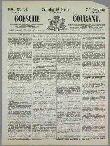 Goessche Courant 1884-10-18