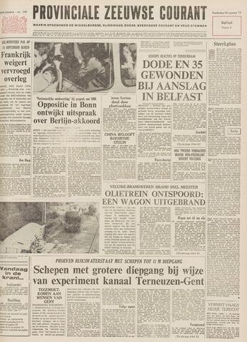 Provinciale Zeeuwse Courant 1971-08-26