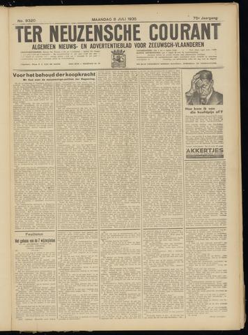 Ter Neuzensche Courant. Algemeen Nieuws- en Advertentieblad voor Zeeuwsch-Vlaanderen / Neuzensche Courant ... (idem) / (Algemeen) nieuws en advertentieblad voor Zeeuwsch-Vlaanderen 1935-07-08