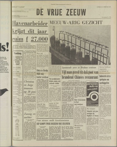 de Vrije Zeeuw 1975-02-22