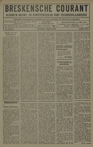 Breskensche Courant 1925-08-19