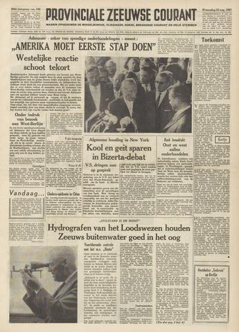 Provinciale Zeeuwse Courant 1961-08-23