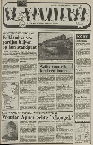 Provinciale Zeeuwse Courant katern Krullenbak (1981-1999) 1982-05-11