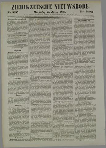 Zierikzeesche Nieuwsbode 1885-06-23