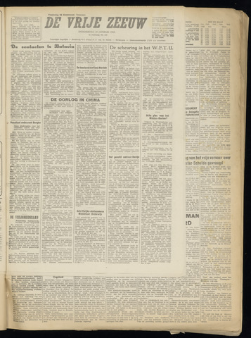 de Vrije Zeeuw 1949-01-20