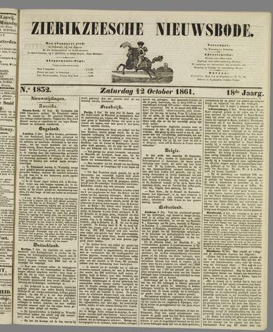 Zierikzeesche Nieuwsbode 1861-10-12
