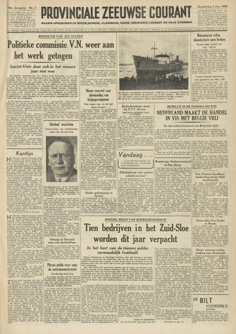 Provinciale Zeeuwse Courant 1952-01-03
