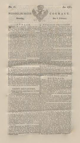 Middelburgsche Courant 1762-02-06