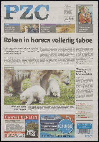 Provinciale Zeeuwse Courant 2013-02-13