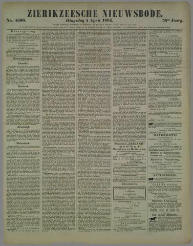 Zierikzeesche Nieuwsbode 1882-04-04
