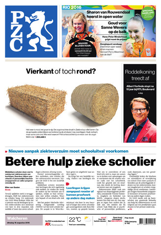 Provinciale Zeeuwse Courant 2016-08-16