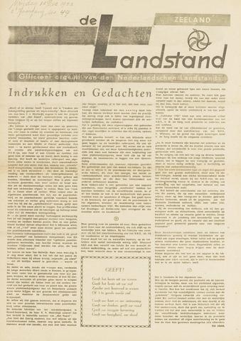 De landstand in Zeeland, geïllustreerd weekblad. 1943-12-10