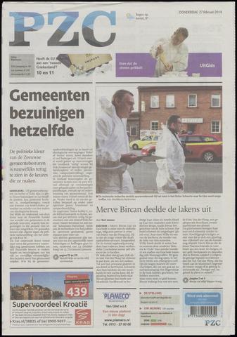Provinciale Zeeuwse Courant 2014-02-27