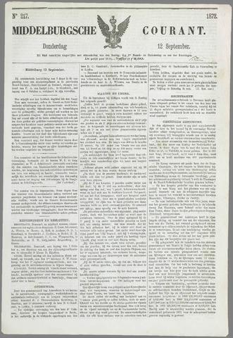 Middelburgsche Courant 1872-09-12