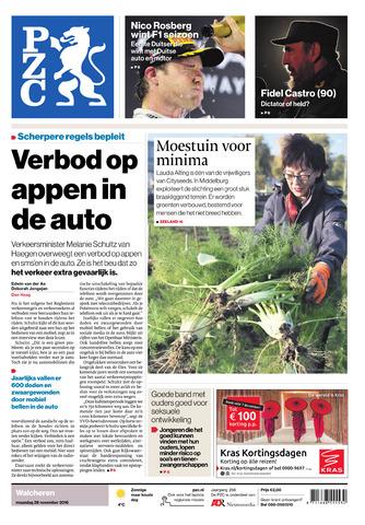 Provinciale Zeeuwse Courant 2016-11-28