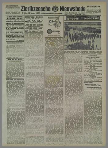 Zierikzeesche Nieuwsbode 1932-03-18