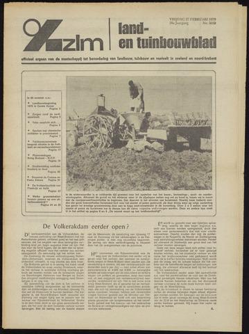 Zeeuwsch landbouwblad ... ZLM land- en tuinbouwblad 1970-02-25