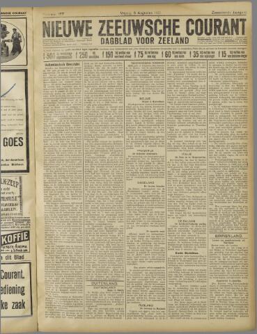 Nieuwe Zeeuwsche Courant 1921-08-05