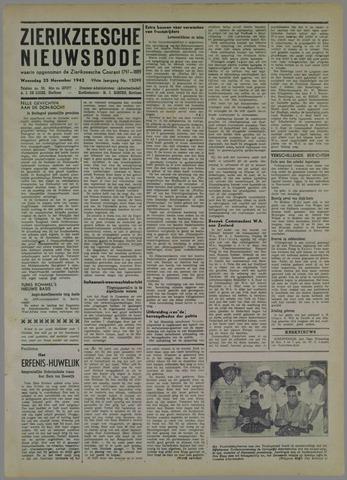 Zierikzeesche Nieuwsbode 1942-11-25
