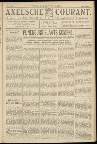 Axelsche Courant 1934-08-17