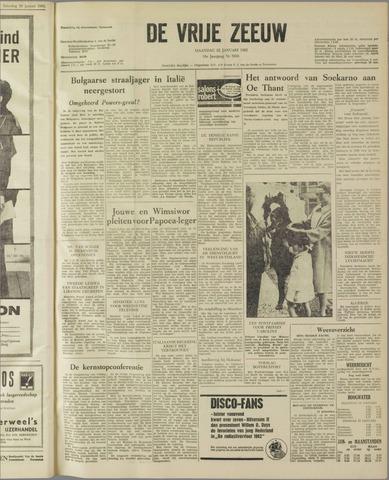 de Vrije Zeeuw 1962-01-22