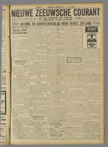 Nieuwe Zeeuwsche Courant 1924-08-02