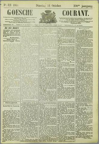 Goessche Courant 1913-10-14