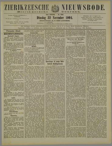 Zierikzeesche Nieuwsbode 1904-11-22