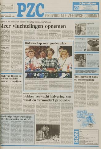 Provinciale Zeeuwse Courant 1992-08-12