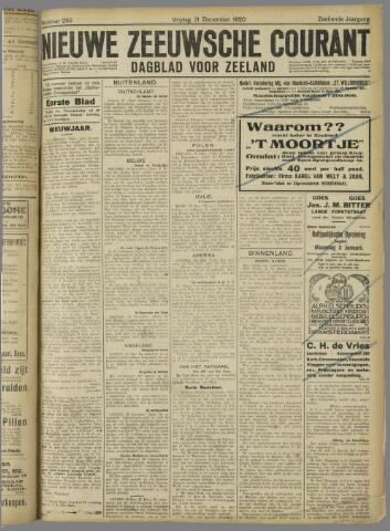 Nieuwe Zeeuwsche Courant 1920-12-31
