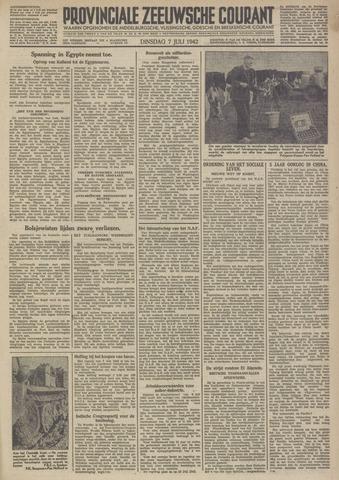 Provinciale Zeeuwse Courant 1942-07-07