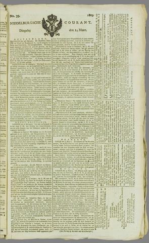 Middelburgsche Courant 1809-03-14