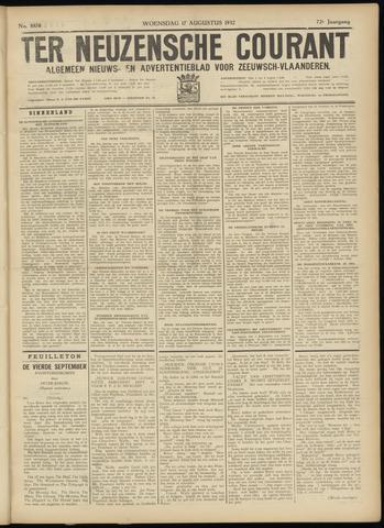 Ter Neuzensche Courant. Algemeen Nieuws- en Advertentieblad voor Zeeuwsch-Vlaanderen / Neuzensche Courant ... (idem) / (Algemeen) nieuws en advertentieblad voor Zeeuwsch-Vlaanderen 1932-08-17