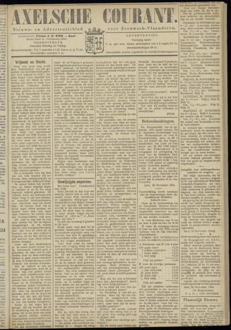 Axelsche Courant 1944-11-21