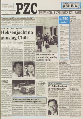 Provinciale Zeeuwse Courant 1986-09-09