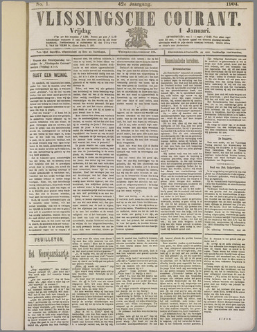 Vlissingse Courant 1904