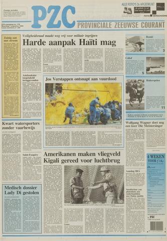 Provinciale Zeeuwse Courant 1994-08-01