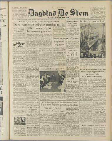 de Stem 1954-02-25