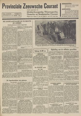 Provinciale Zeeuwse Courant 1941-03-22