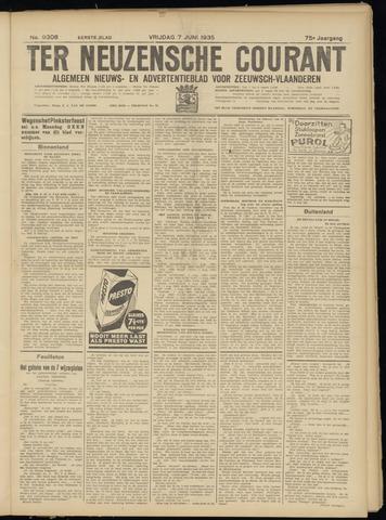 Ter Neuzensche Courant. Algemeen Nieuws- en Advertentieblad voor Zeeuwsch-Vlaanderen / Neuzensche Courant ... (idem) / (Algemeen) nieuws en advertentieblad voor Zeeuwsch-Vlaanderen 1935-06-07