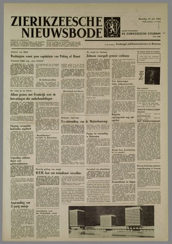 Zierikzeesche Nieuwsbode 1965-07-12