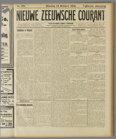 Nieuwe Zeeuwsche Courant 1919-10-14