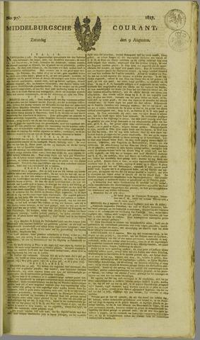 Middelburgsche Courant 1817-08-09