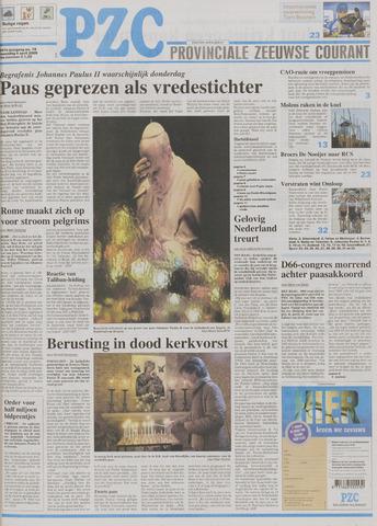 Provinciale Zeeuwse Courant 2005-04-04